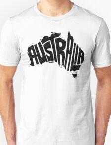 Australia Black T-Shirt