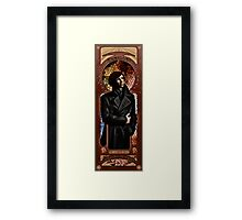 The World's only Consulting Detective Framed Print