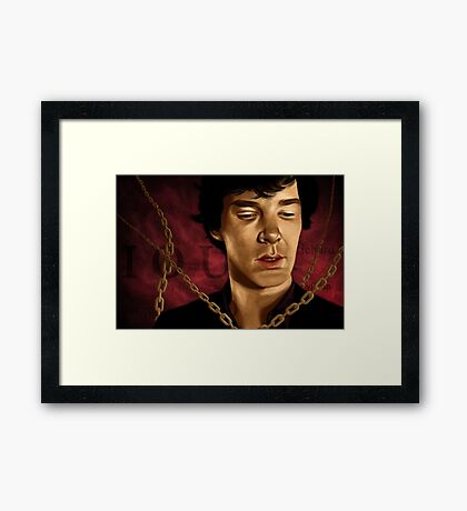 Moriarty's Trap Framed Print
