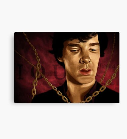 Moriarty's Trap Canvas Print