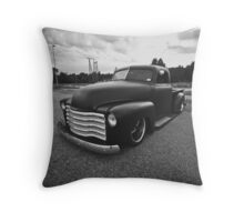 Old Chevy pillow Throw Pillow