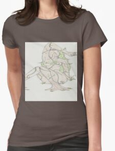 Nature - Rebirth Womens Fitted T-Shirt