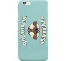 Kookaburra bird vintage design - Australian animal  iPhone Case/Skin