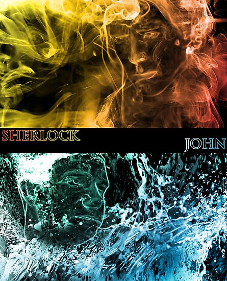 Sherlock and John by nero749