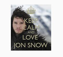 KEEP CALM AND LOVE JON SNOW Unisex T-Shirt