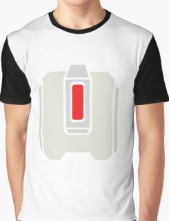 Overwatch Bastion Red Icon Graphic T-Shirt