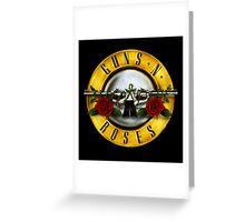 Guns n Roses Greeting Card