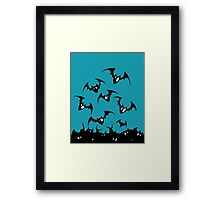 Gothic Feeling Batty  Framed Print