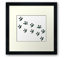 Tippy Toe Framed Print