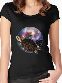 The Flight of the Turtle Women's Fitted Scoop T-Shirt
