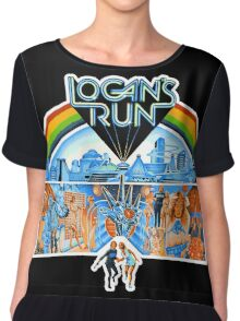 Logan's Run Chiffon Top
