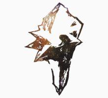 Final Fantasy IX logo universe One Piece - Short Sleeve