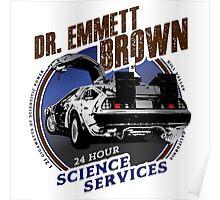 Dr Emmet Brown Science Services Poster