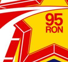 Automotive Car Art, Fictional Petrol fuel logo Sticker