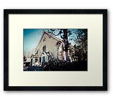 I love Barns Framed Print