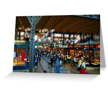 Budapest Central Market Hall Greeting Card