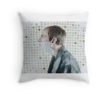 I don't shave for Sherlock Holmes. Throw Pillow