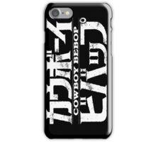 Cowboy Bebop logo iPhone Case/Skin