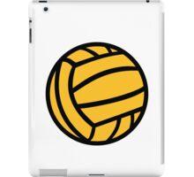 Water polo ball iPad Case/Skin