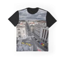 Top View from the Powder Gate in Prague Graphic T-Shirt