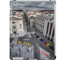 Top View from the Powder Gate in Prague iPad Case/Skin