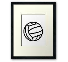 Water Polo ball logo Framed Print