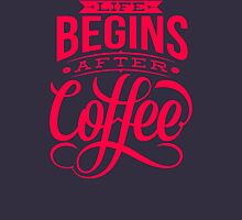 Coffee Quote Long Sleeve T-Shirt