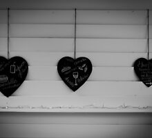 Three Hearts by Alexandra Vaughan Photography & Design