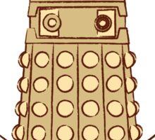 Vitruvian Dalek Sticker