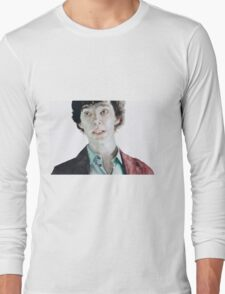 Plain as the nose on your... Long Sleeve T-Shirt