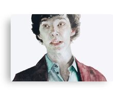 Plain as the nose on your... Metal Print