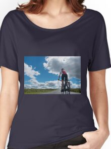 Cycling: The Open Road Women's Relaxed Fit T-Shirt