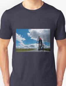 Cycling: The Open Road Unisex T-Shirt
