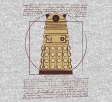 Vitruvian Dalek One Piece - Short Sleeve