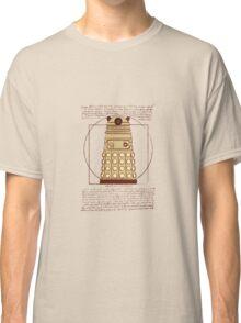 Vitruvian Dalek Classic T-Shirt
