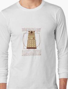 Vitruvian Dalek Long Sleeve T-Shirt