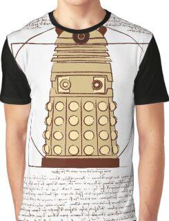 Vitruvian Dalek Graphic T-Shirt