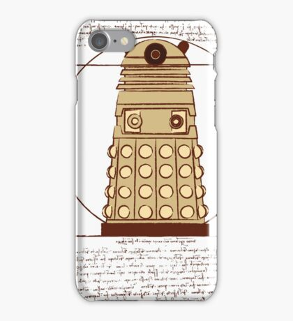 Vitruvian Dalek iPhone Case/Skin