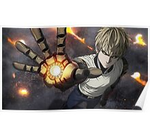 One Punch Man Genos Poster