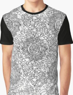 Chaotic abstract background Graphic T-Shirt