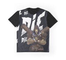OVERWATCH 'Reaper': DIE, DIE, DIE [tshirts & tops] /Reaper Player Graphic T-Shirt