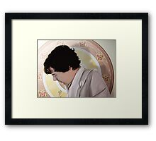 The Royal Sheet Framed Print