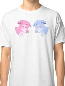 Blue & Pink Deer Classic T-Shirt