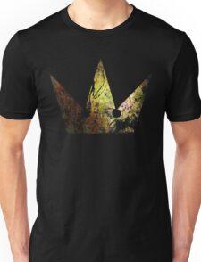 Kingdom Hearts Crown grunge universe Unisex T-Shirt