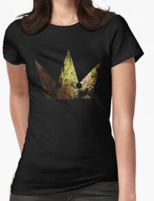 Kingdom Hearts Crown grunge universe Womens Fitted T-Shirt