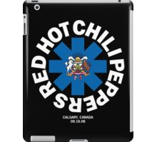 BEST OF RED HOT CHILI PEPPERS CALGARY CANADA iPad Case/Skin