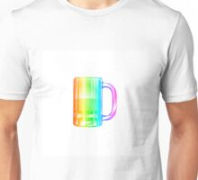 Rainbow Beer Mug Unisex T-Shirt