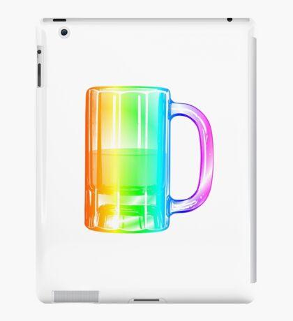 Rainbow Beer Mug iPad Case/Skin
