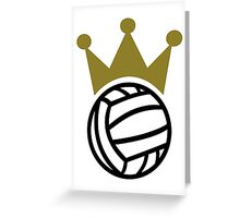 Water polo champion crown Greeting Card