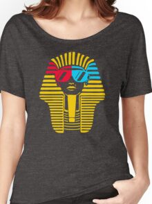 Egyptian With 3d Glass Women's Relaxed Fit T-Shirt